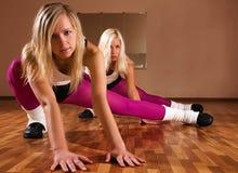 Girls dancers Stock Photo