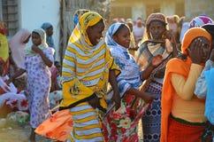 Girls dancing at the muslim wedding Stock Photos