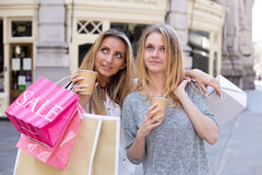 Girls day out. Stock Image