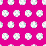 Girls diamond sequins in a seamless pattern Stock Photos