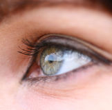 Girls eye Stock Photography