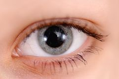 Girls Eye Royalty Free Stock Photos