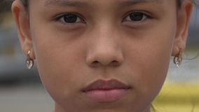 Girls Face, Childhood, Youth stock footage