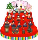 Girls Festival in Japan Stock Image