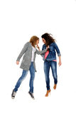 Girls fight Stock Images