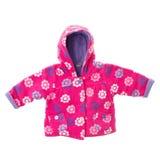 Girls fleece jacket Royalty Free Stock Photos