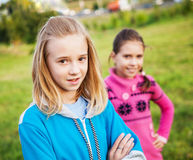 Girls friends Royalty Free Stock Photography