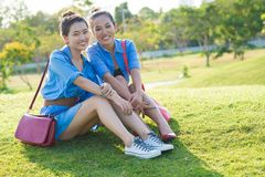 Girls' friendship Royalty Free Stock Photography
