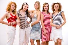 Girls, girls, girls Stock Images