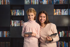 Girls are in good mood Stock Photography