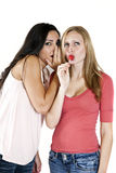 Girls gossip Stock Photo