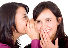 Girls gossip Stock Photos