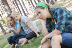 Girls gossiping Royalty Free Stock Photography
