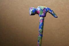 Girls hammer. Flowery hammer stock image