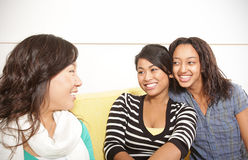 Girls hanging out Stock Images