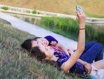 Girls have fun Royalty Free Stock Image