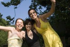 Girls having fun Royalty Free Stock Photos