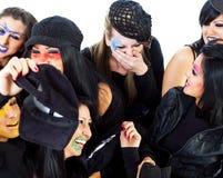 Girls having fun Royalty Free Stock Images