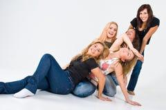 Girls Having Fun Stock Photos