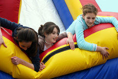 Girls having fun Stock Image