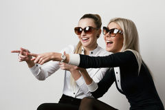 Girls having fun Stock Photography