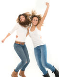 Girls having fun Stock Image