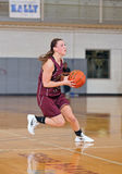 Girls High School Basketball Stock Photo