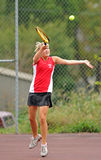Girls High School Tennis Royalty Free Stock Images