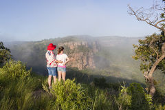 Girls Hiking Wilderness Royalty Free Stock Photos