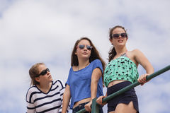 Girls Holidays Fun Stock Photos