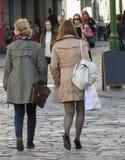 Girls in Kaunas Royalty Free Stock Photos