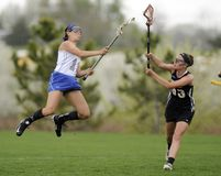 Girls Lacrosse Stock Images