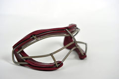 Girls Lacrosse goggles Stock Image