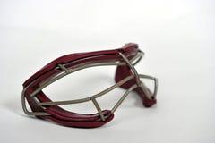 Girls Lacrosse goggles Stock Image