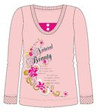 Girls / Ladies Fancy Printed Fashion Fullsleeve Tops Illustration with Print Stock Images
