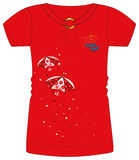 Girls / Ladies Fancy Printed Fashion Tops Illustration with Print & Embroidery Stock Photography