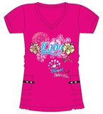 Girls / Ladies Fancy Printed Fashion Tops Illustration with print Stock Photo
