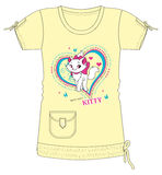 Girls / Ladies Fancy Printed Fashion Tops Illustration with print Stock Images