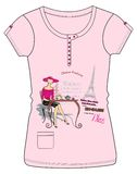 Girls / Ladies Fancy Printed Fashion Tops Illustration with print Royalty Free Stock Photography