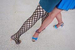 Girls legs Royalty Free Stock Image