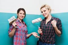 Girls make repairs Stock Photography