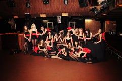 Girls at Miss Ukraine Stock Photography