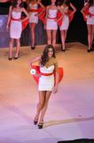 Girls at Miss Ukraine Royalty Free Stock Images