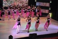 Girls at Miss Ukraine Stock Photos