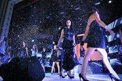 Girls at Miss Ukraine Stock Images