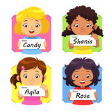 Girls Name 1 Royalty Free Stock Photography
