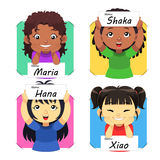 Girls Name 2 Royalty Free Stock Image