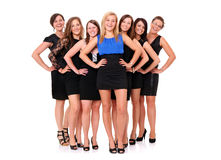 Girls' night Royalty Free Stock Images