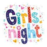 Girls night Stock Photo