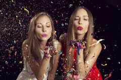 Girls night out Stock Image